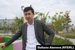 Astana Garden Schools жекеменшік мектебінің бас директоры Нұрмұхамед Досыбаев.