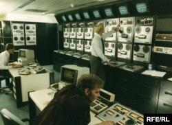 У будівлі Радіо Свобода в Мюнхені (світлина періоду 1973–1976 років)