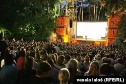 Filmski festival, Palić (arhivska fotografija)