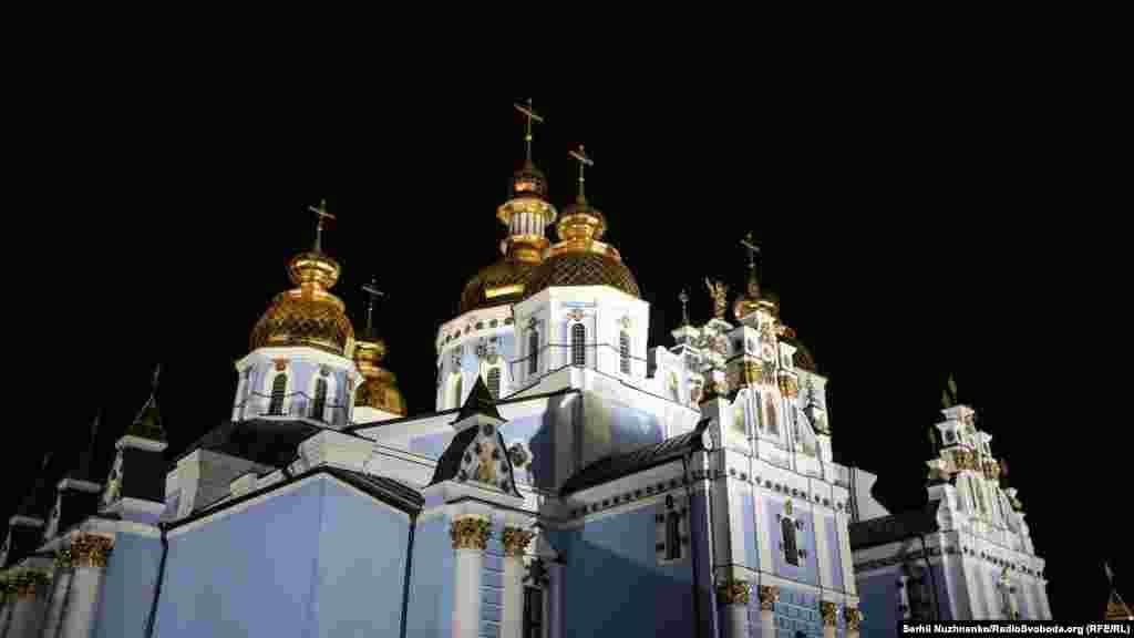 Великоднє богослужіння Православної церкви України відбулося у Михайлівському Золотоверхому соборі