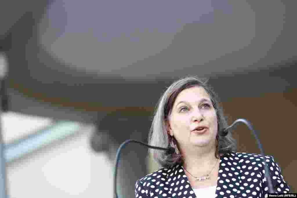 Viktorija Nuland u Beogradu