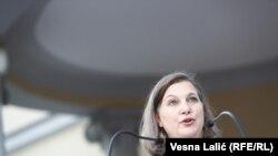 Виктория Нуланд, АҚШ мемлекеттік хатшысының көмекшісі.