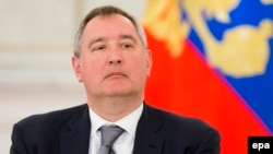 Russia - Deputy Prime Minister Dmitry Rogozin attends a meeting of a committee on preparations for Victory Day in WWII, which Russia celebrates on May 9, in the Kremlin in Moscow, Russia, 05 April 2016