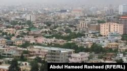 Поглед на Кабул.