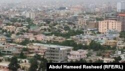 نمای از شهر کابل بعد از گذشت یک و نیم دهه حضور نظامی امریکا و جامعۀ جهانی در افغانستان.