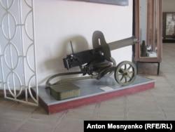 Этот пулемет чуть было не стал причиной закрытия музея - власти утверждали, что без стеклянной витрины он мог стать добычей террористов