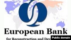 Еуропа қайта құру және даму банкінің логотипі. (Көрнекі сурет).