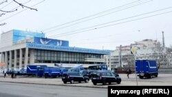 Здание Академического музыкального театра в Симферополе, иллюстрационное фото