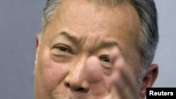 Бывший президент Кыргызстана Курманбек Бакиев.