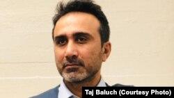 Покистонлик журналист Сажид Ҳусайн.