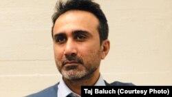 د بلوچستان ټایمز خبري وېبپاڼې مدیر مسئول ساجد حسین