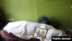 جنازه هاله سحابی در منزلش