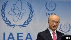 یوکیو آمانو، مدیرکل آژانس بینالمللی انرژی اتمی.