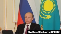 Президент России Владимир Путин. Астана. 15 октября 2015 года.