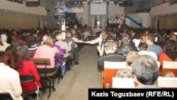 Одно из религиозных собраний в Казахстане. Иллюстративное фото.