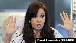 Former Argentininian President Cristina Fernandez de Kirchner