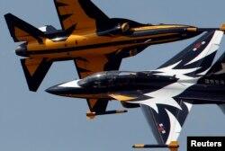 جنگندههای عقاب سیاه متعلق به نیروی هوایی کره جنوبی