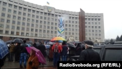 Івано-франківці вийшли на страйк, 13 лютого 2014