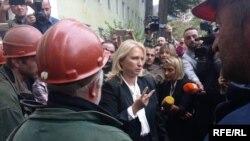 Министр экономики и устойчивого развития Натия Турнава по заданию премьер-министр Георгия Гахария сегодня посетила Ткибули