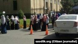 Студентки Международной исламской академии в Ташкенте.