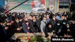 Похороны Мохсена Фахризаде