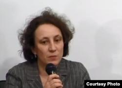 Джемма Пьорцген (скріншот з відео Українського кризового медіацентру)