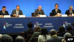Министрите за надворешни работи на Г8