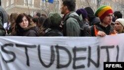 Sa jednog od studentskih protesta u BiH, foto: Midhat Poturović