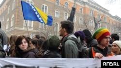 Studenti u Sarajevu