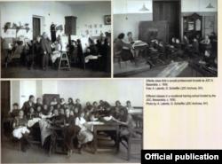 Imagini din școlile profesionale finanțate de JDC (Joint) în perioada interbelică (Foto: JDC Archives/Un secol de activitate în România JDC, București, 2018)