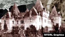 Замок Иммендорф, коллаж