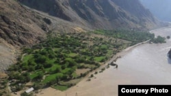 Tajikistan -- Floods in Badakhshan region, 13Jul2017