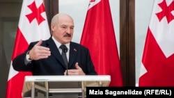 Аляксандар Лукашэнка ў Грузіі