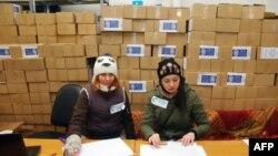 Ajutoare pentru refugiații din regiunea Odesei...