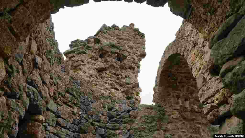 Поруч із фортецею в середні віки пролягав торговий шлях з Горзувіта (Гурзуфа) і Алустона (Алушти) в степовий Крим