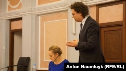 Виступ адвоката в суді про заборону Меджлісу кримськотатарського народу
