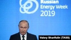 Președintele rus Vladimir Putin la Săptămâna Energetică de la Moscova, 2 octombrie 2019
