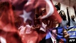 Туркияда президент Эрдўғон тарафдорлари исёнчилар қаттиқ жазоланишини талаб қилмоқдалар.