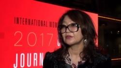 Репортер Азаттыка Сания Тойкен удостоена премии «За мужество в журналистике»