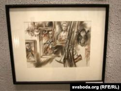 Арлен Кашкурэвіч. Ілюстрацыя да аповесьці «Дзікае паляваньне караля Стаха»