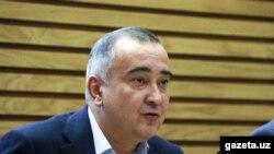 Тошкент ҳокими Жаҳонгир Ортиқхўжаев.