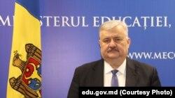 Igor Șarov, ministrul Educației, Culturii și Cercetării