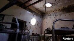 Izgled unutrašnjosti bolnice u Kunduzu koju su vodili Ljekari bez granica, 26. april 2016.
