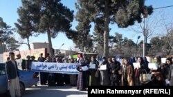 اعتراض کارگران ریاست هایدرُوکاربُنهای شبرغان