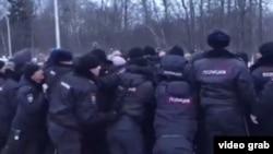 Протест в Волоколамске.