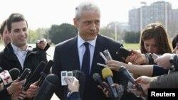Борис Тадич, президент Сербии. Белград, 4 апреля 2012 года.
