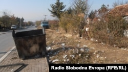 Расфрлан отпад во Куманово.