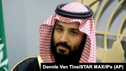 Наследный принц Саудовской Аравии Мухаммед бин Салман Аль Сауд. Архивное фото.