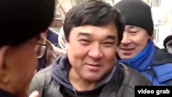 «Жетінші күн адвентистері» шіркеуінің мүшесі Ықылас Қабдуақасов. Астана, 9 қараша 2015 жыл.