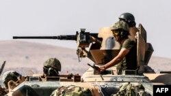 Թուրքական զինվորները գործողություն են իրականացնում Սիրիայի տարածքում, արխիվ